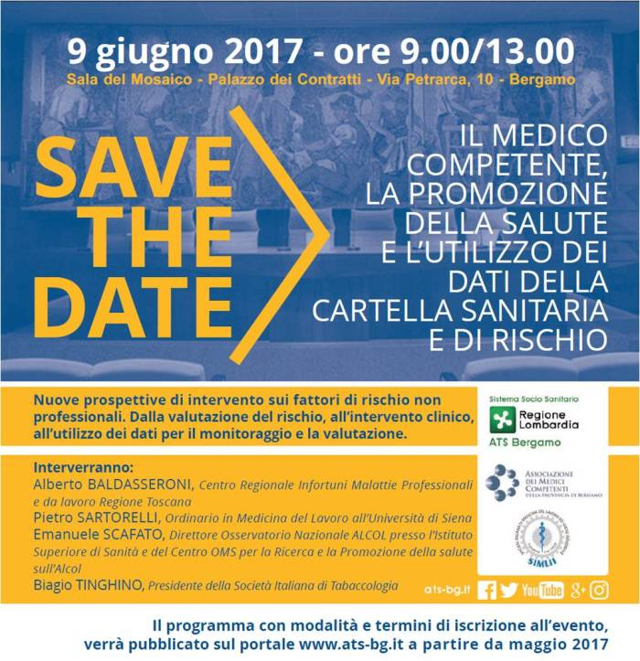 save the date 9 giugno